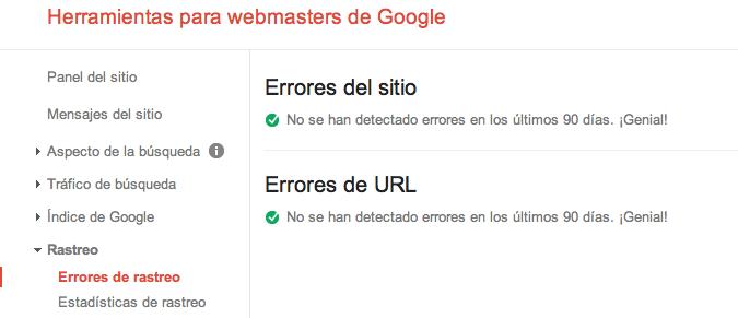 Cómo solucionar errores de rastreo de Webmaster Tools