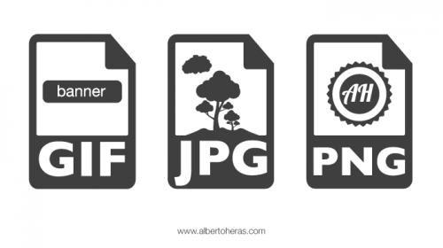 Guía básica de formatos de imagen para web